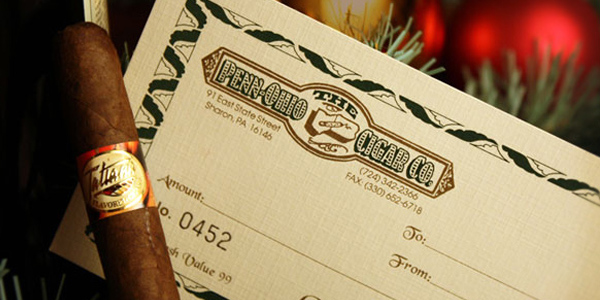 Gift Certificates - a perfect stocking stuffer!